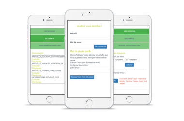 création application mobile reporting Orléans